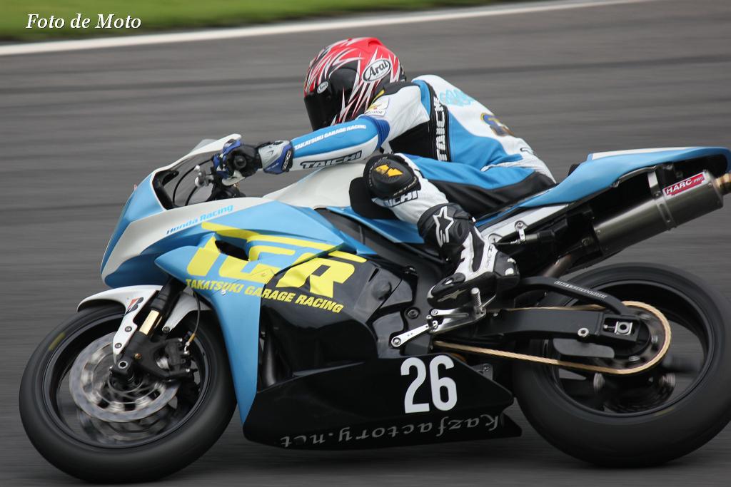 ST600 #26 TGR 鈴木 秀知 Honda CBR600RR