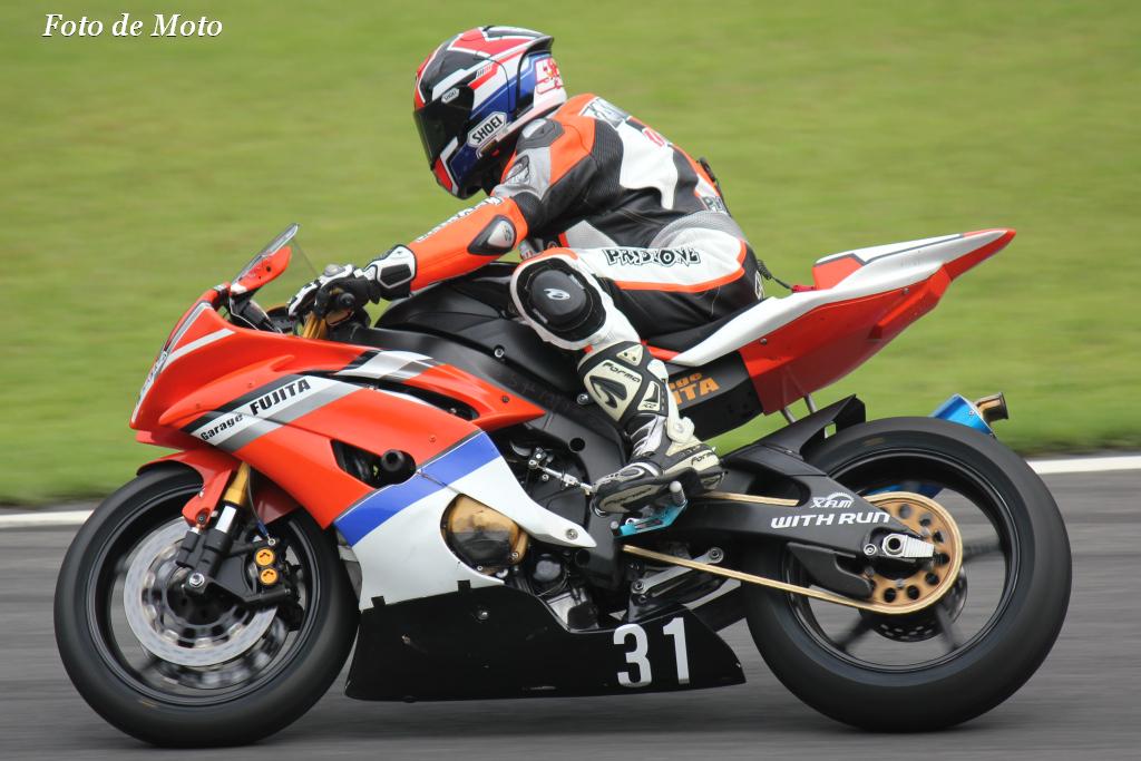 ST600 #31 ガレージフジタDFR  諏訪 匡邦 Yamaha YZF-R6