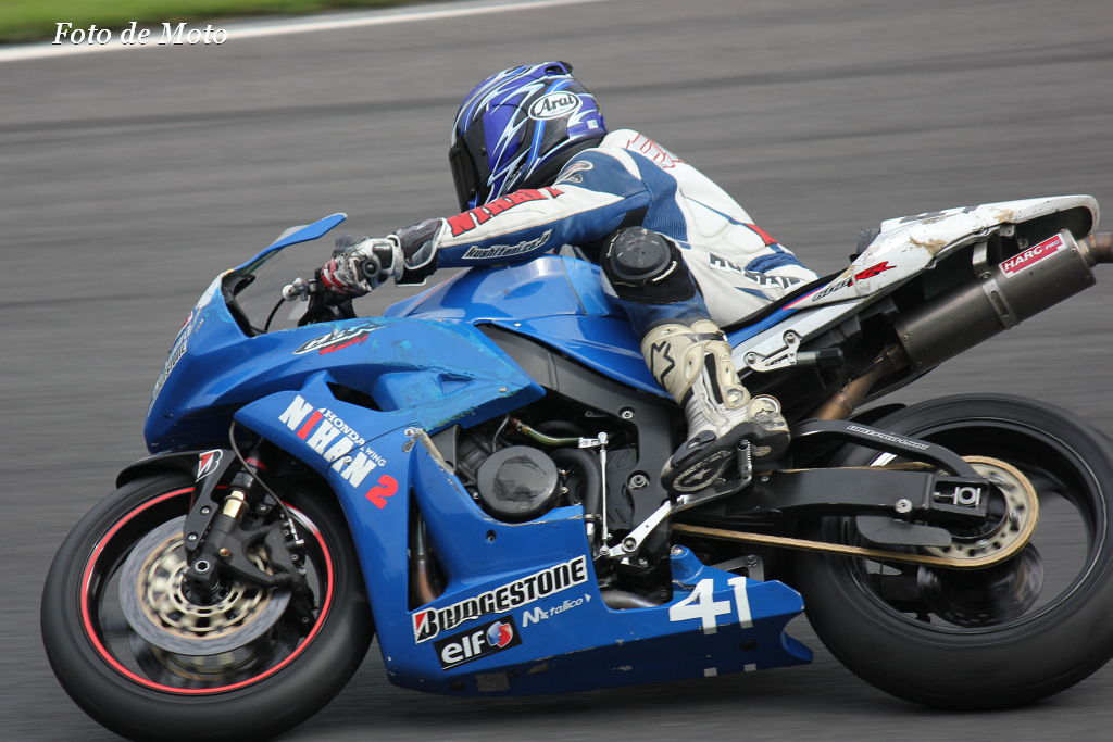 ST600 #41 NIHAN 2 Racing  高木 栄治 CBR600RR
