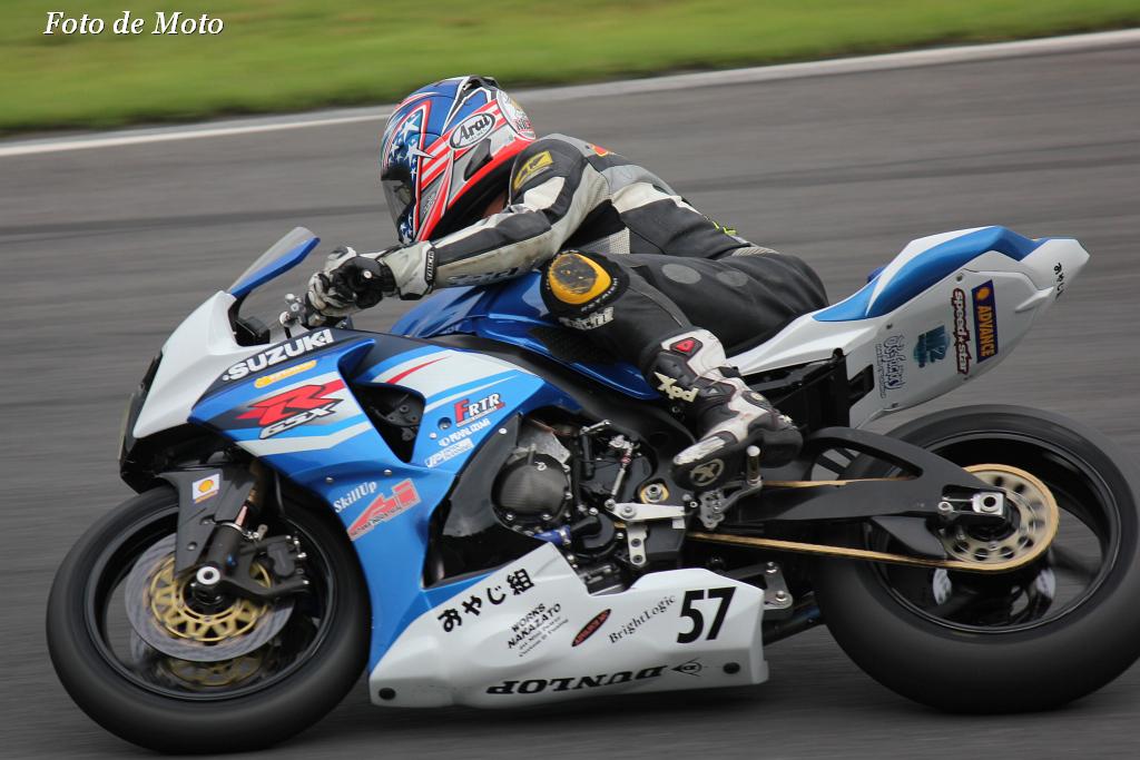 JSB1000 #57 Skill Up おやじ組 中澤 純也 Suzuki GSX-R1000