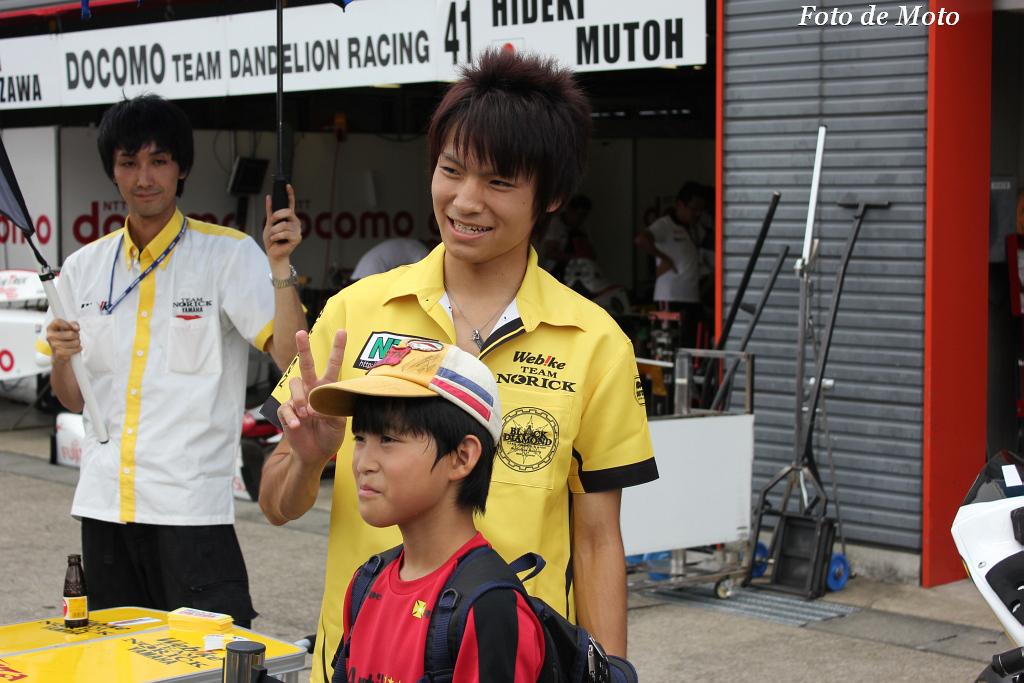 J-GP2 #31 ウエビックチームノリックヤマハ 野左根 航汰 Nozane Kohta Yamaha YZW-N6