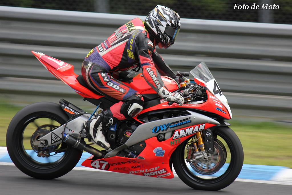 J-GP2 #47 ALLMAN&OWRACING 小口 亘 Oguchi Wataru Yamaha YZF-OWR6