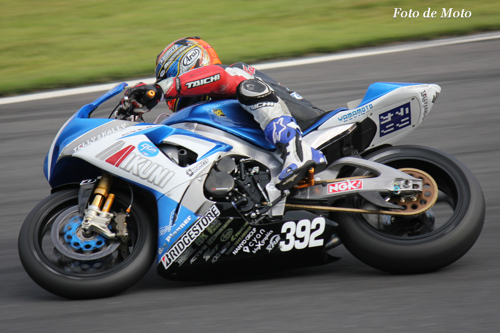 J-GP2 #392 ミクニ テリーアンドカリー 津田 一磨 Tsuda Kazuma Suzuki GSXR600