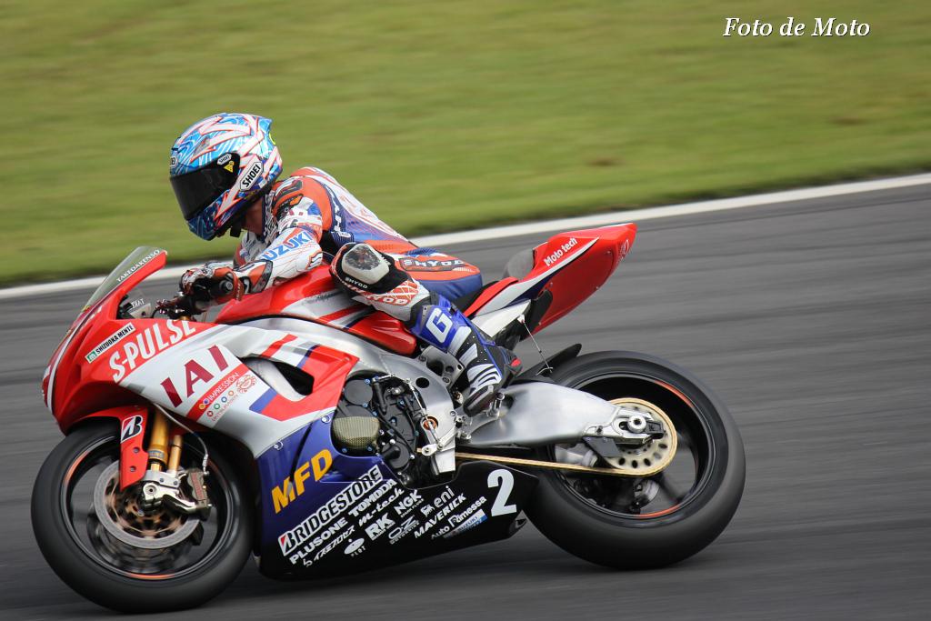 J-GP2 #2 エスパルスドリームレーシング 生形 秀之 Ogata Hideyuki Suzuki GSX-MFD6