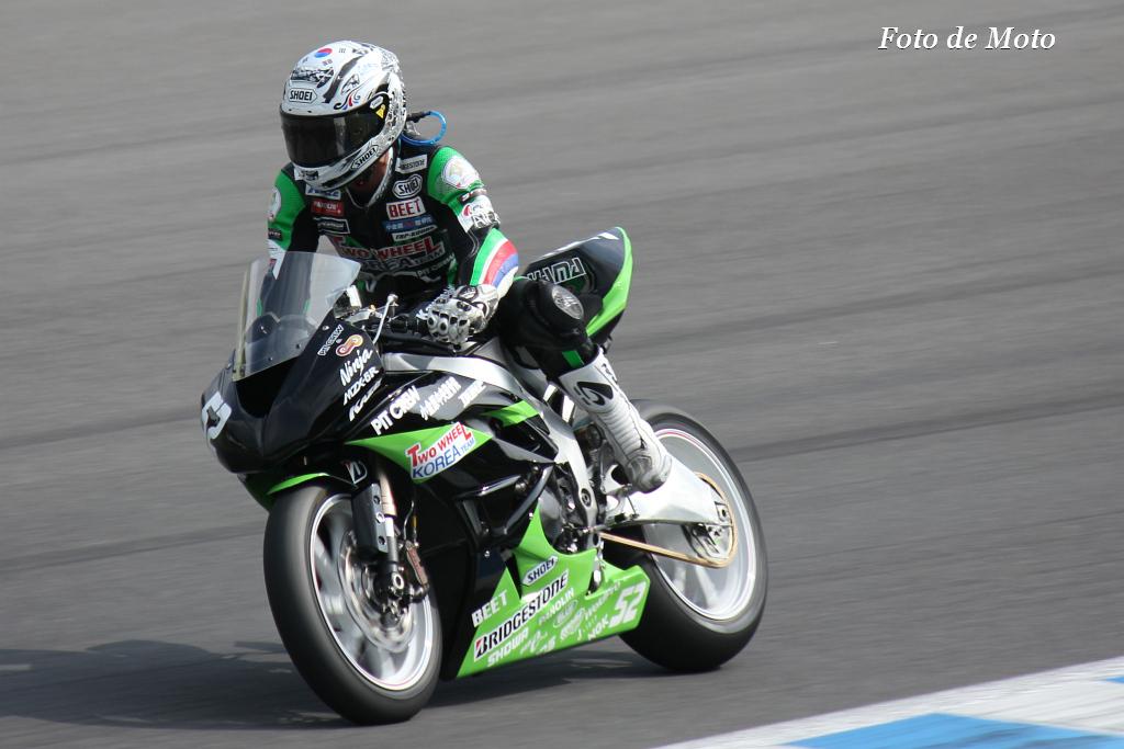 J-GP2 #52 PITCREW&TWOWHEEL KOREA HANGDAE CHO Kawasaki MZX-6R