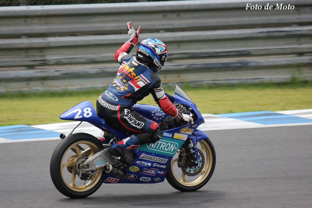 J-GP3 #14 オールスターモータースポーツ 三好 菜摘 Miyoshi Natsumi Honda NSF250R