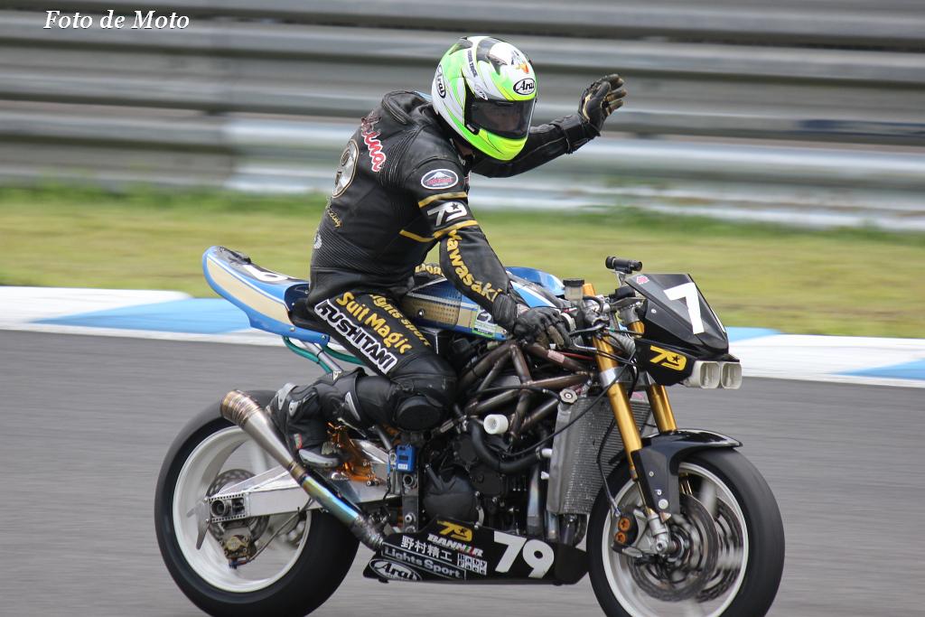 J-GP2 #79 アサヒナレーシング 朝比奈 正 Asahina Tadashi Z600