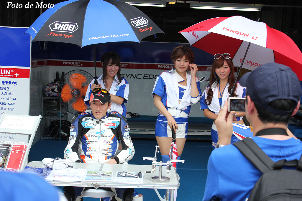 J-GP2 #11 SYNCEDGE 4413 Racing  星野 知也 Hoshino Tomoya CBR600RR HP6