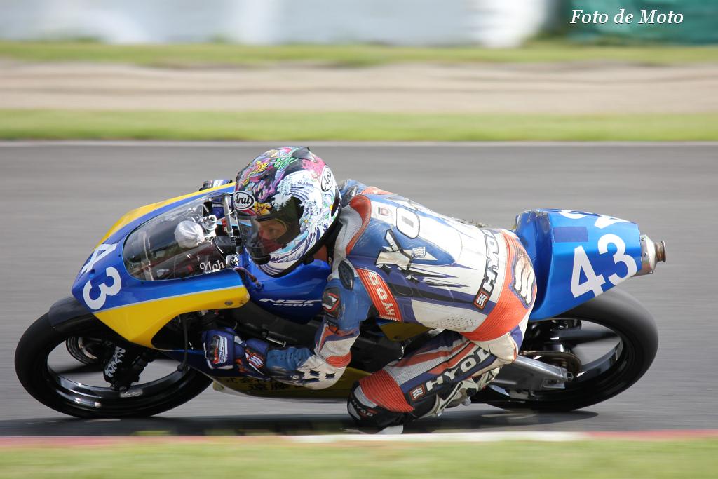 J-GP3 #43 FTR・タイヤナビ・遠藤住宅(株) 畑中 要 Hatanaka Yo Honda NSF250R