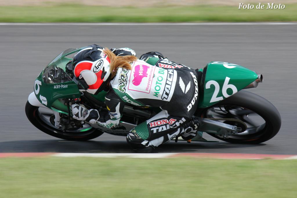 J-GP3 #26 モトバムwithヒポポタマス 高杉 奈緒子 Takasugi Naoko Honda NSF250R