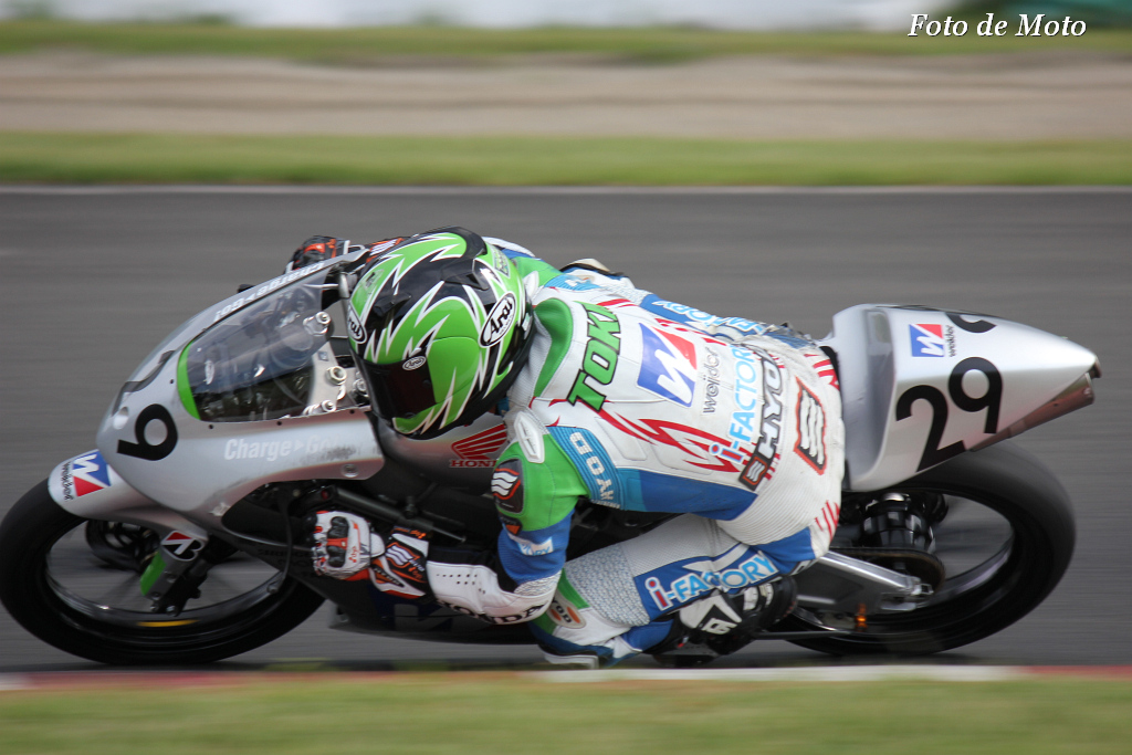 J-GP3 #29 ウイダー チームアイファクトリー 澁田 晨央 Shibuta Tokio Honda NSF250R