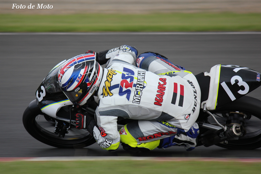 J-GP3 #13 SRSJwithMORIWAKI  佐野 優人 Sano Yuto MD250GP3