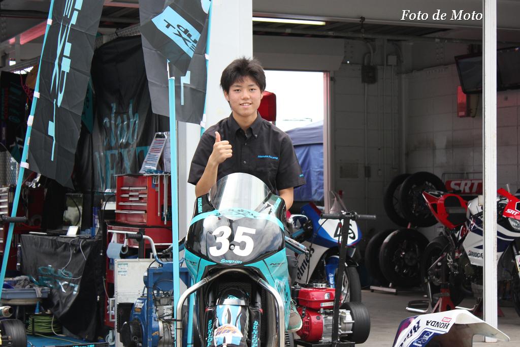 J-GP3 #35 CLUBNEXT&MOTOBUM  吉広 光 Yoshihiro Hikaru Honda NSF250R