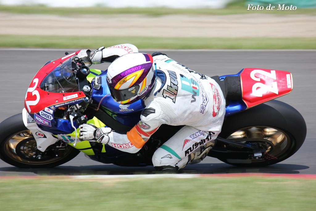JSB1000 # 22 ホンダドリーム高崎B'WISER・T 清水 郁巳 Shimizu Ikumi Honda CBR1000RR