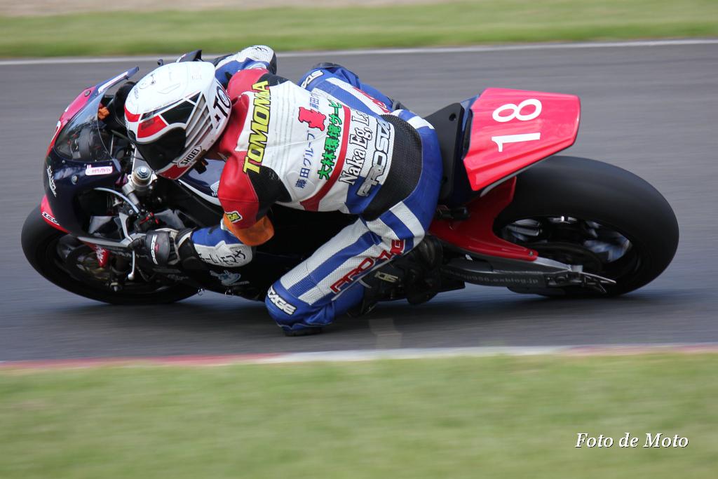 JSB1000 # 18 チーム トモマサ 中村 知雅 Nakamura Tomomasa Honda CBR1000RR