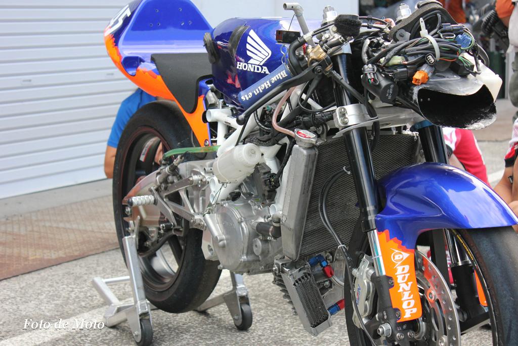 J-GP3 #45  Honda ブルーヘルメットMSC   近藤 眞衣 Kondo Mai BH113R