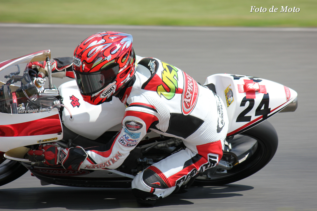 J-GP3 #24 TEAM ASPIRATION  古市 右京 Furuichi Ukyo Honda NSF250R