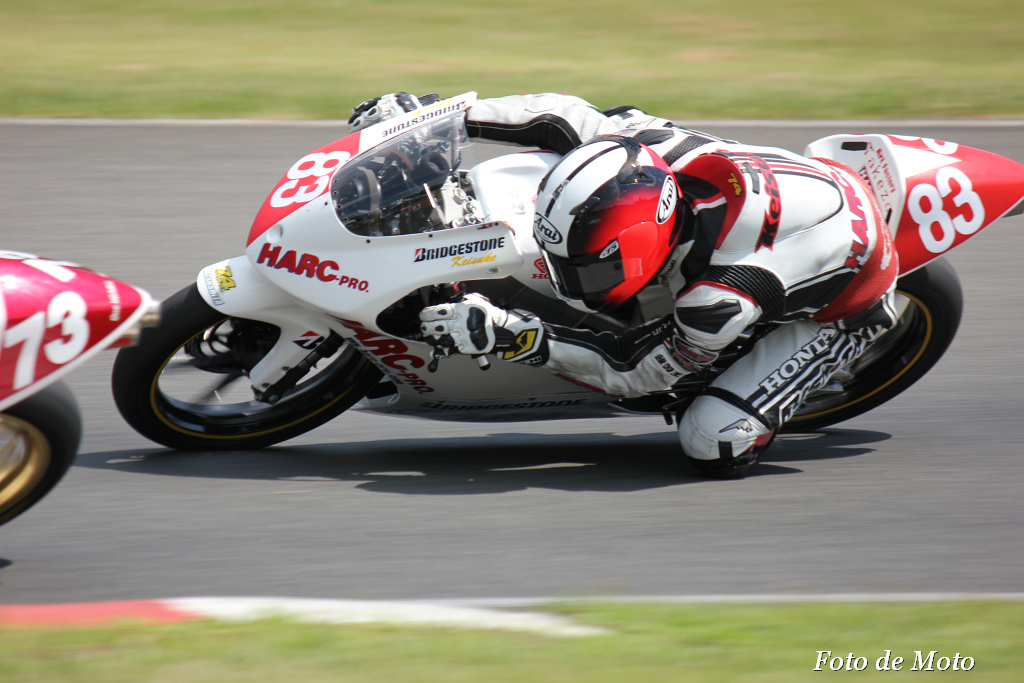 J-GP3 #83 CLUB HARC-PRO. 栗原 佳祐 Honda NSF250R