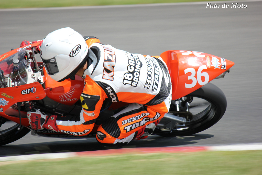 J-GP3 #36 18 GARAGE RACING TEAM  大塚 和人 Honda NSF250R
