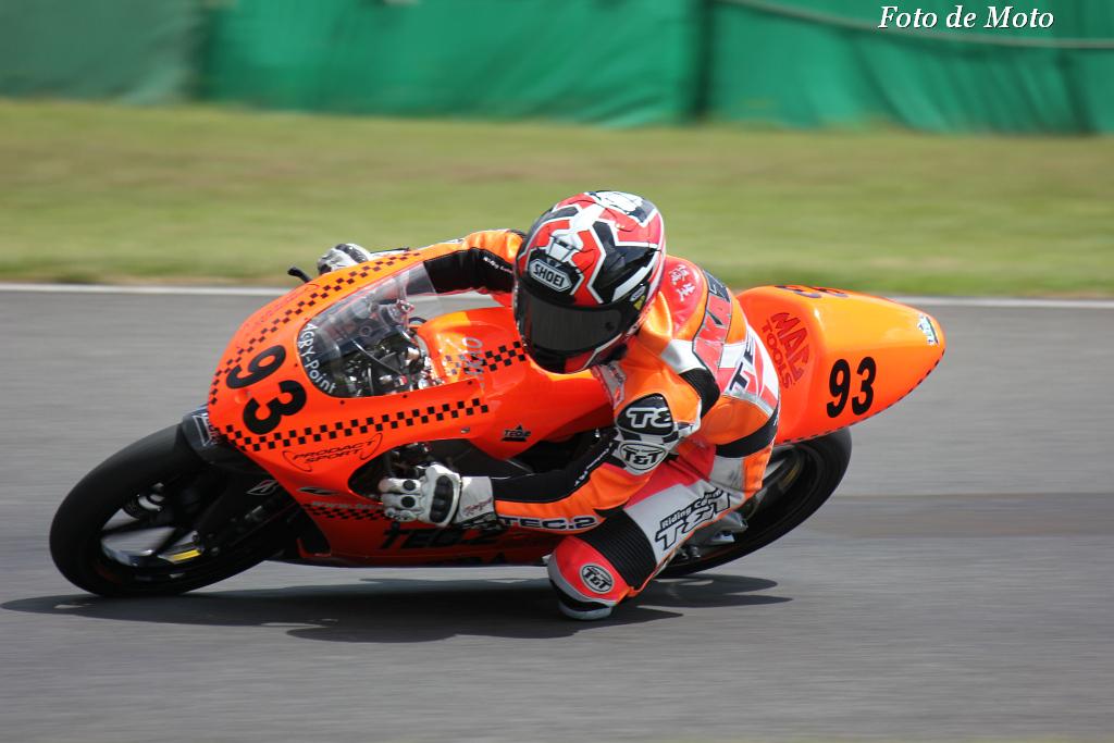 J-GP3 #93 TEAM TEC2 & TDA   赤澤 隆生 TEC2 TEC2-12