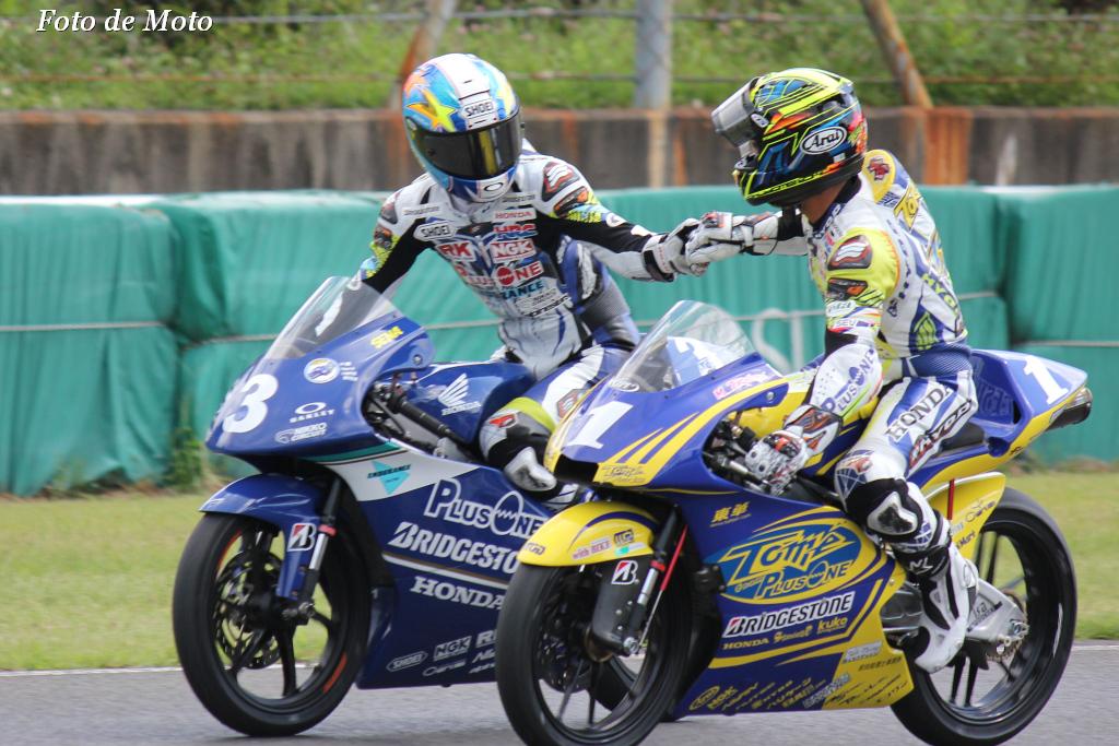 J-GP3 #3 TEAM PLUSONE & ENDURANCE  山田 誓己 Yamada Sena Honda NSF250R