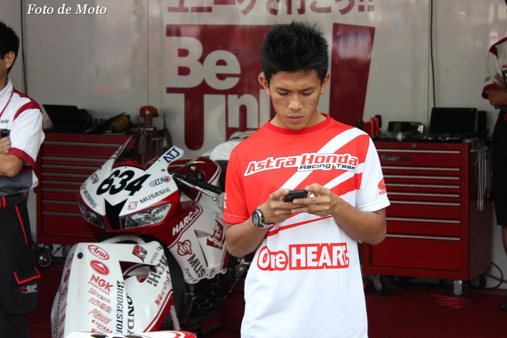 J-GP3 #73 Astra Motor Racing Team Denny Triyugo Honda NSF250R