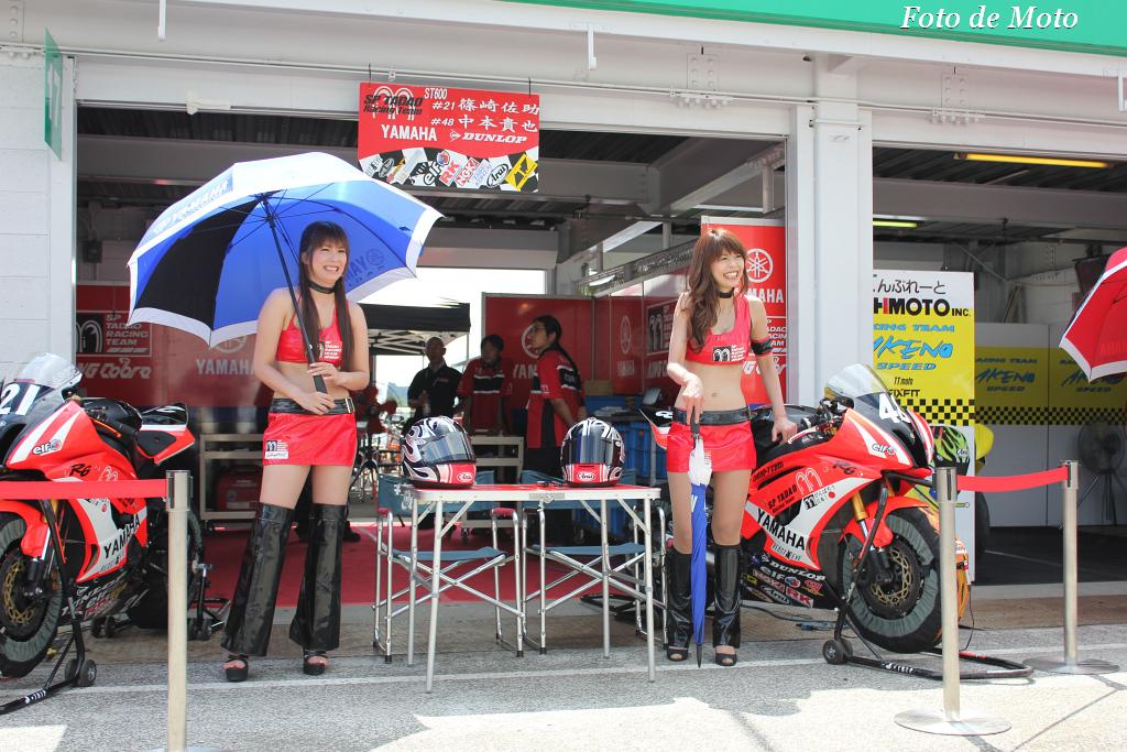 ST600 #21 SP忠男レーシングチーム 篠崎 佐助 Shinozaki Sasuke Yamaha YZF-R6