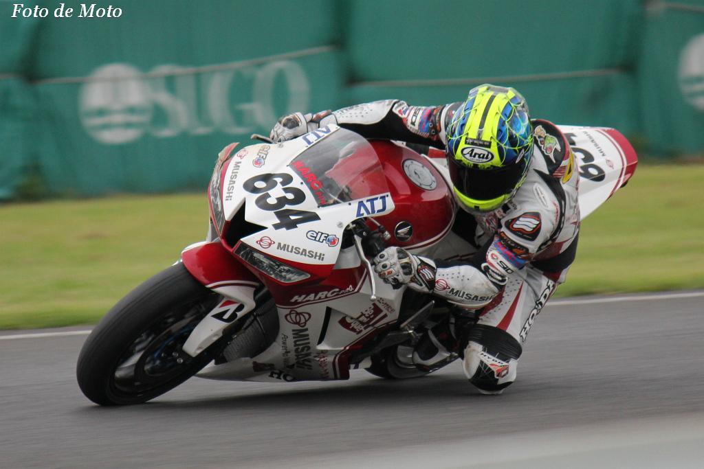 ST600 #634 MuSASHiRTハルク・プロ  亀谷 長純 Kameya Chojun Honda CBR600RR