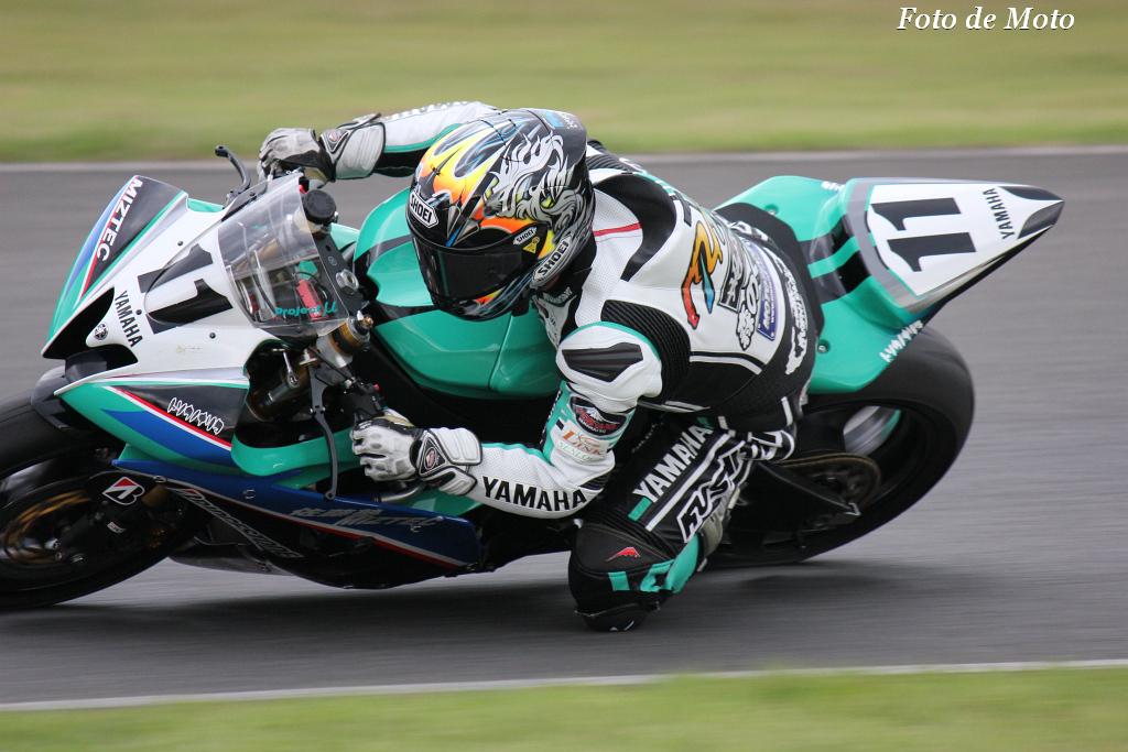 ST600 #11 RT 森のくまさん佐藤塾 横江 竜司 Yokoe Ryuji Yamaha YZF-R6