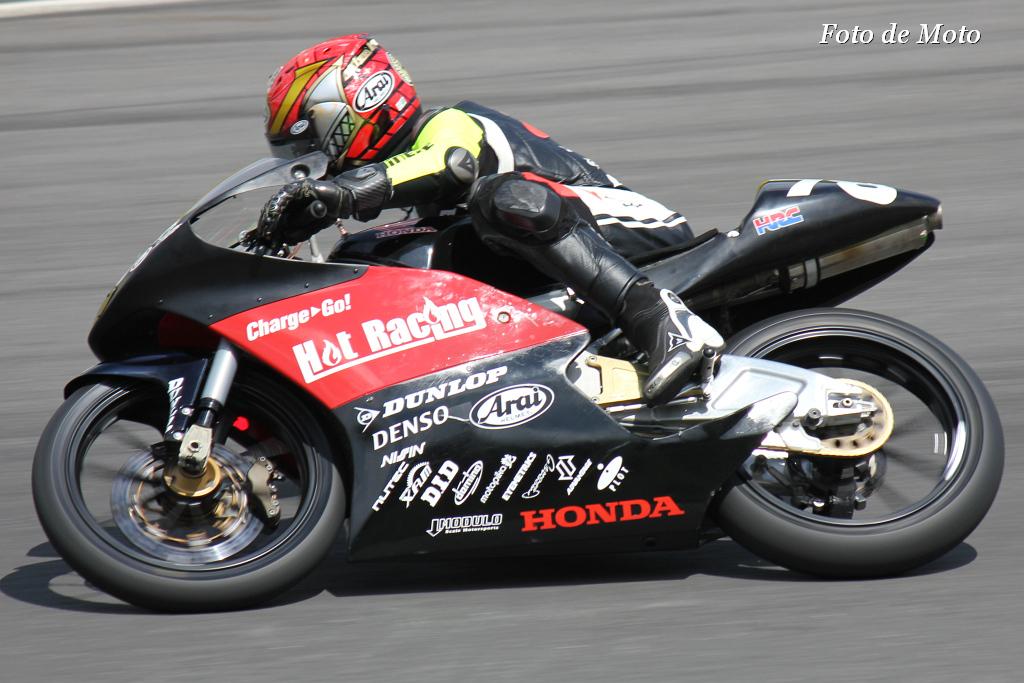 J-GP3 #78 HotRacing 大久保 光 Okubo Hikari Honda NSF250R