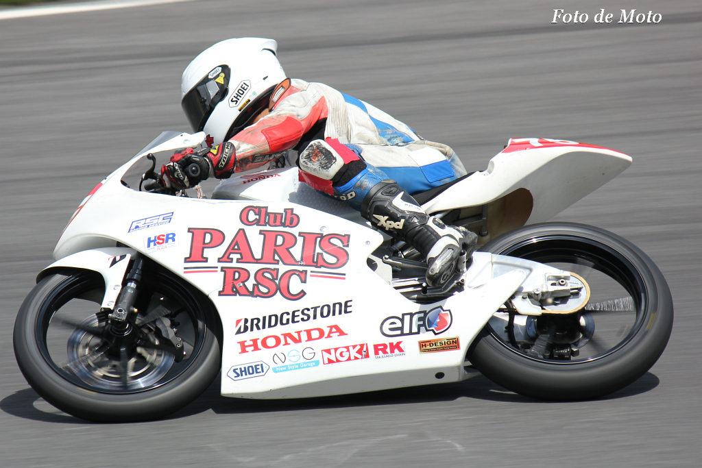 J-GP3 #75 Club PARIS RSC 作本 輝介 Honda NSF250R