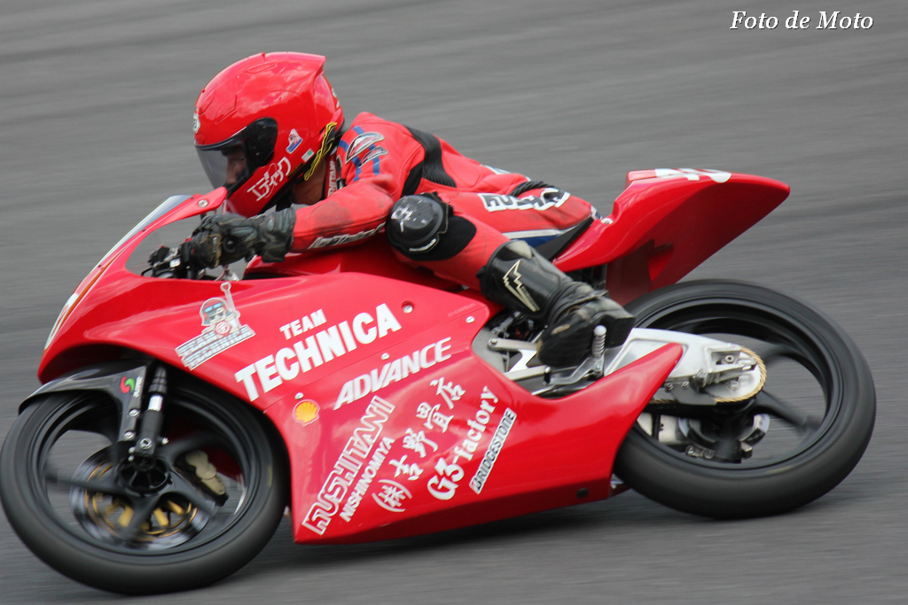 J-GP3 #40 TEAM TECHNICA 中山 翔太 Honda NSF250R