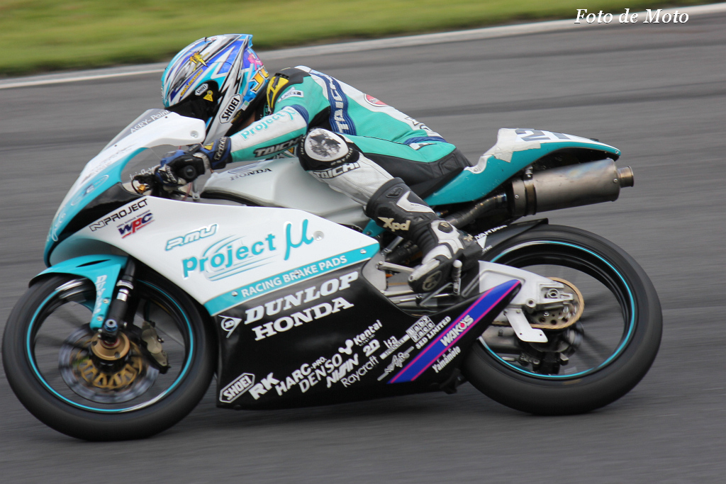 J-GP3 #21  Projectμ7C HARC 大西 隼 Onishi Jun Honda NSF250