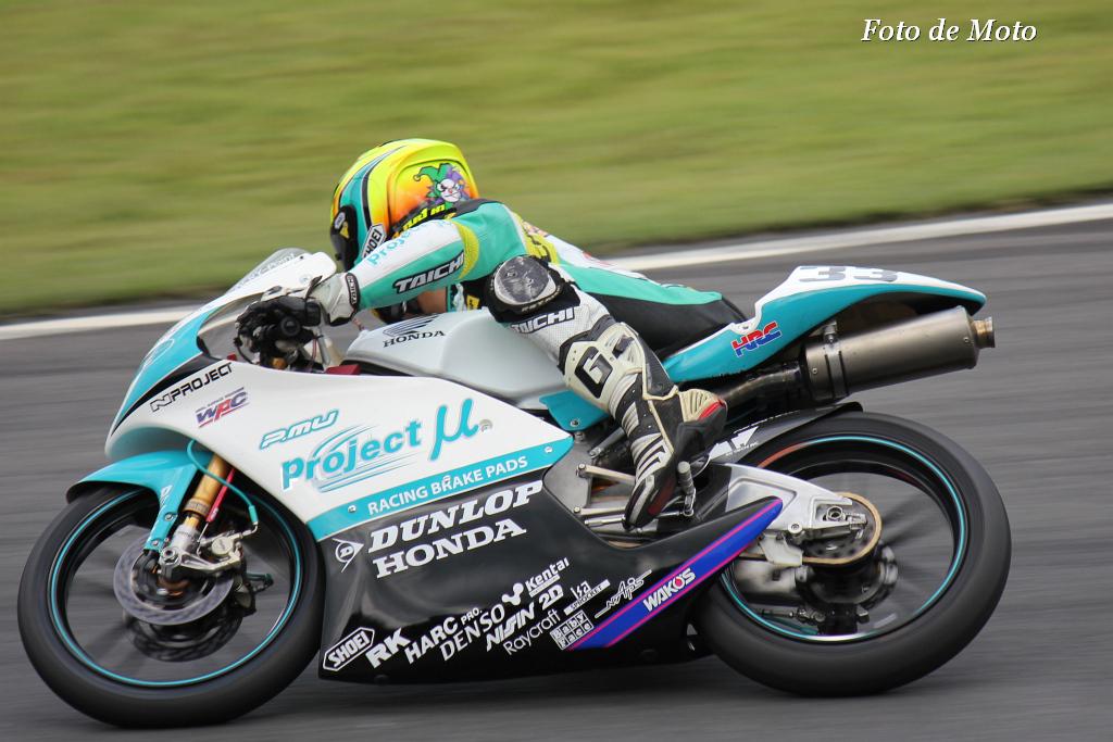 J-GP3 #33 Projectμ7C HARC 山元 聖 Yamamoto Hijiri Honda NSF250R(MR03)