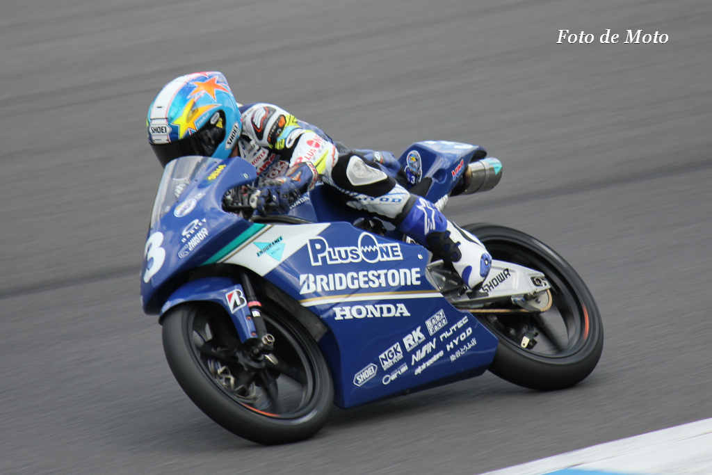 J-GP3 #3 TEAM PLUSONE & ENDURANCE 山田 誓己 Yamada Sena NSF250R