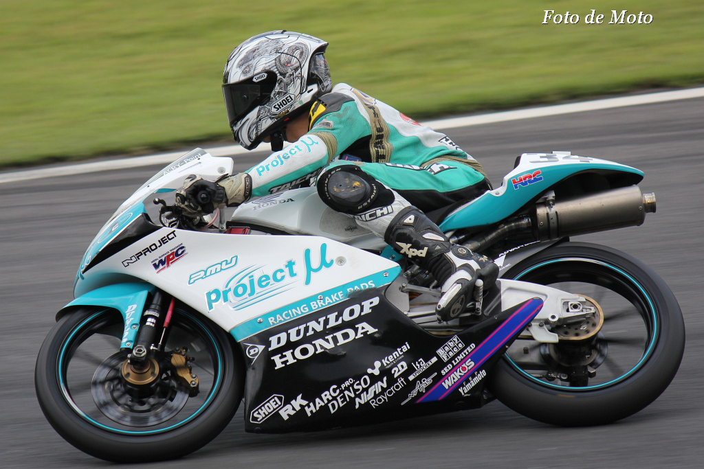 J-GP3 #34 Projectμ7C HARC 関野 海斗 Sekino Kaito Honda NSF250R