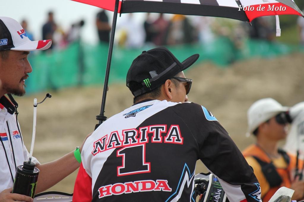 IA1 #1 TEAM HRC 成田 亮 Narita Akira CRF450R