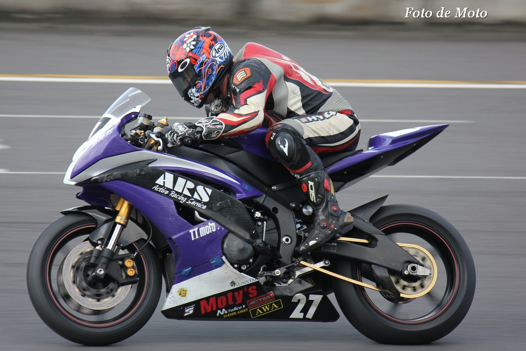 ST600 #27 Team-ARS 遠藤 悟 YZF-R6