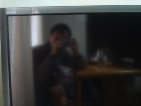 Myself on a TV screen
