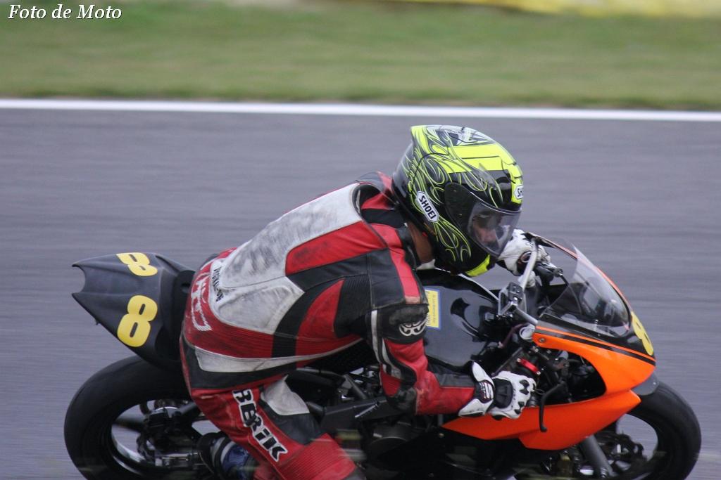 TC-mini #8 レーシングチーム・ヒロ 小田 泰宏 Honda NSF100