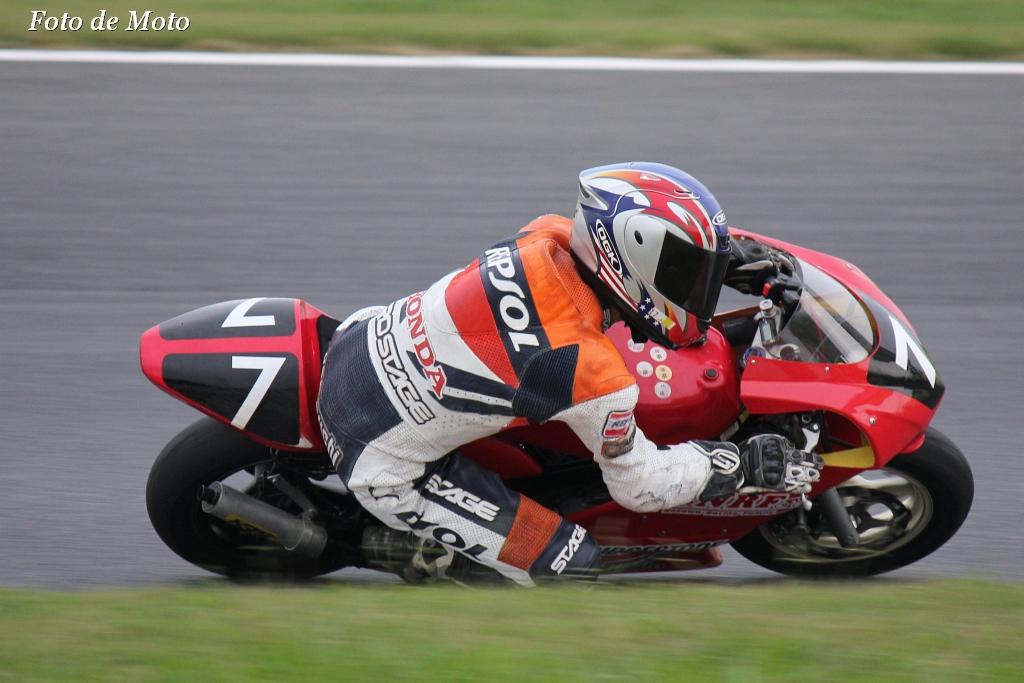 TC-mini #7 ノザワレーシングファミリー 山内 大介 Honda NSR80