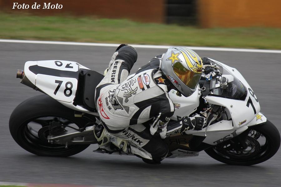 TC600 #78 team JUN 花沢 誠 Honda CBR600RR