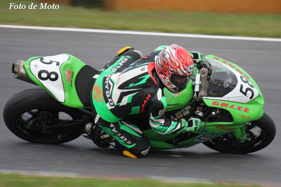 TC600 #58 TEAM GRACE 小林 一克 Kawasaki ZX-6R