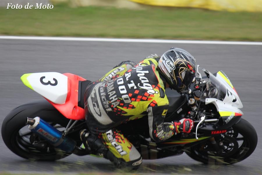 TC600 #3 Team RIGID 矢作 亨 Yamaha YZF-R6