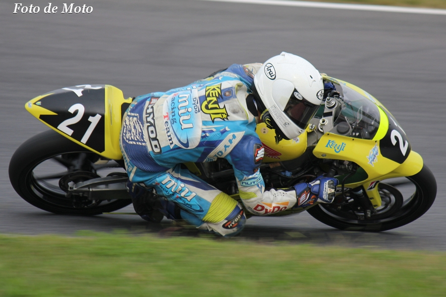 J-GP3 #21 チームけんけん&円陣家至高SP 長尾 健史 Honda RS125R