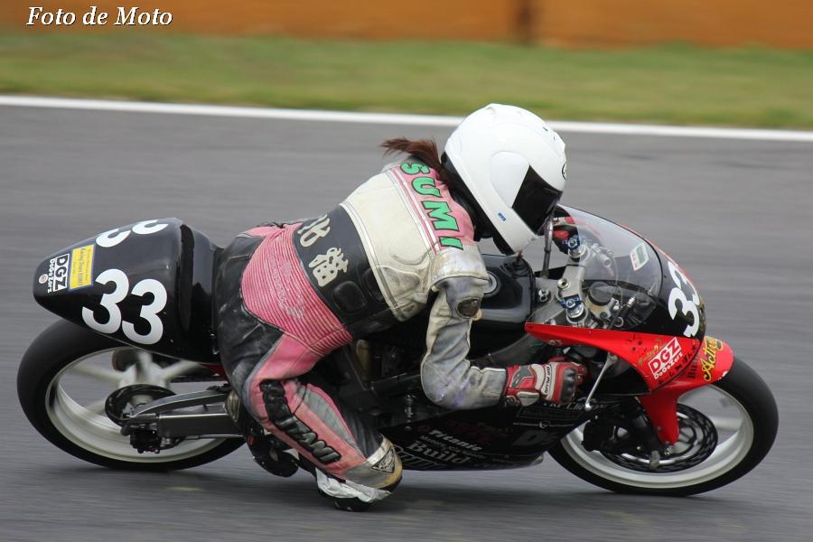 J-GP3 #33 Bilud works & モトハウスマツモト 安川 澄江 Honda RS125