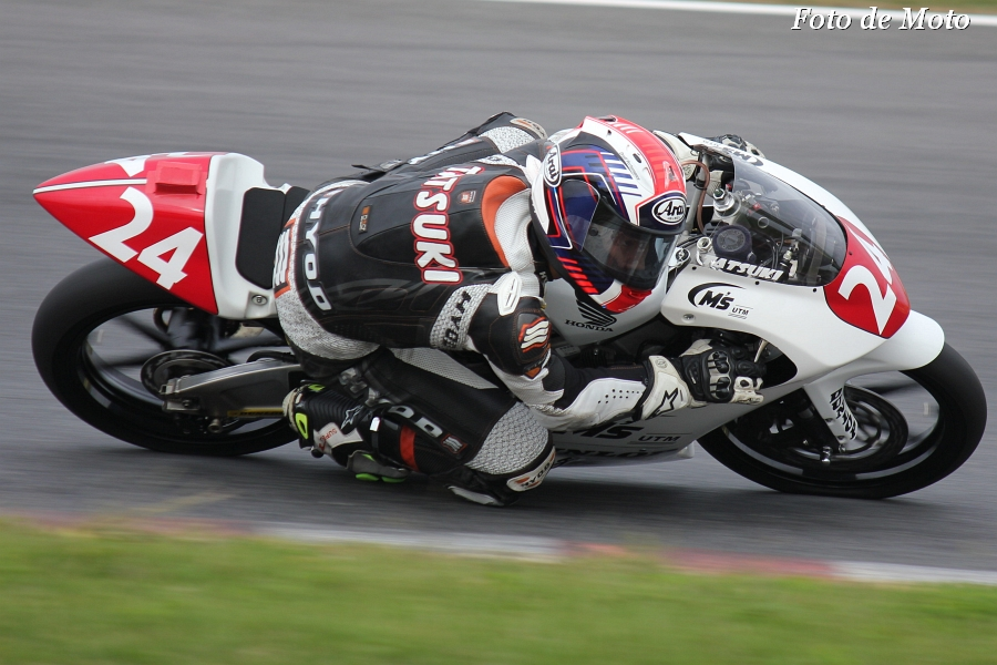 J-GP3 #24 Teamチャウチャウ 鈴木 竜生 Honda NSF250R