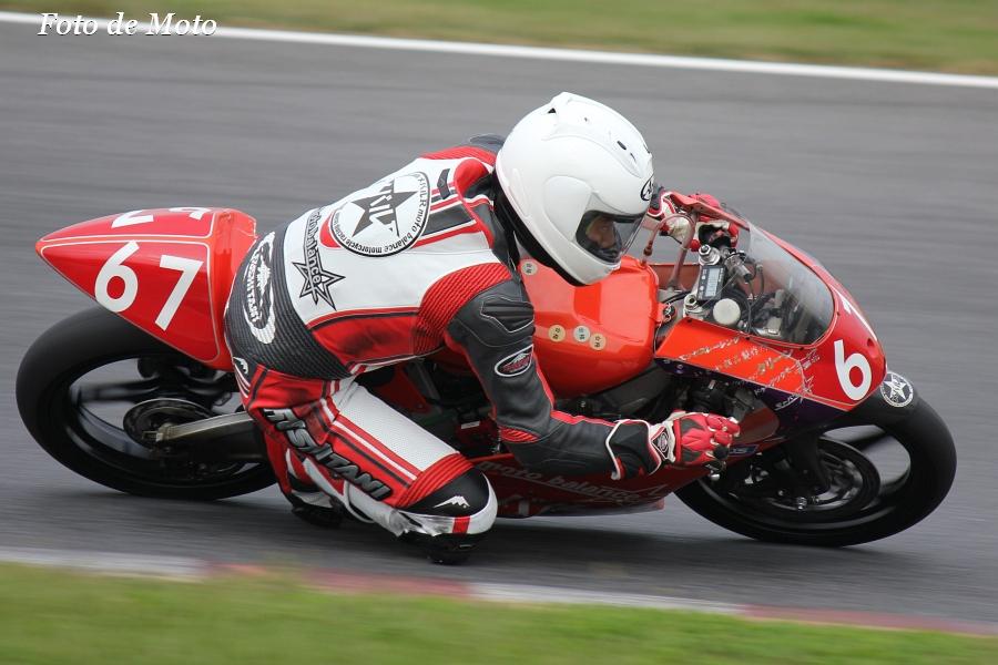 J-GP3 #67 メバルRモトバラ+OX&DMC 本宮 賢 Honda NSF250R
