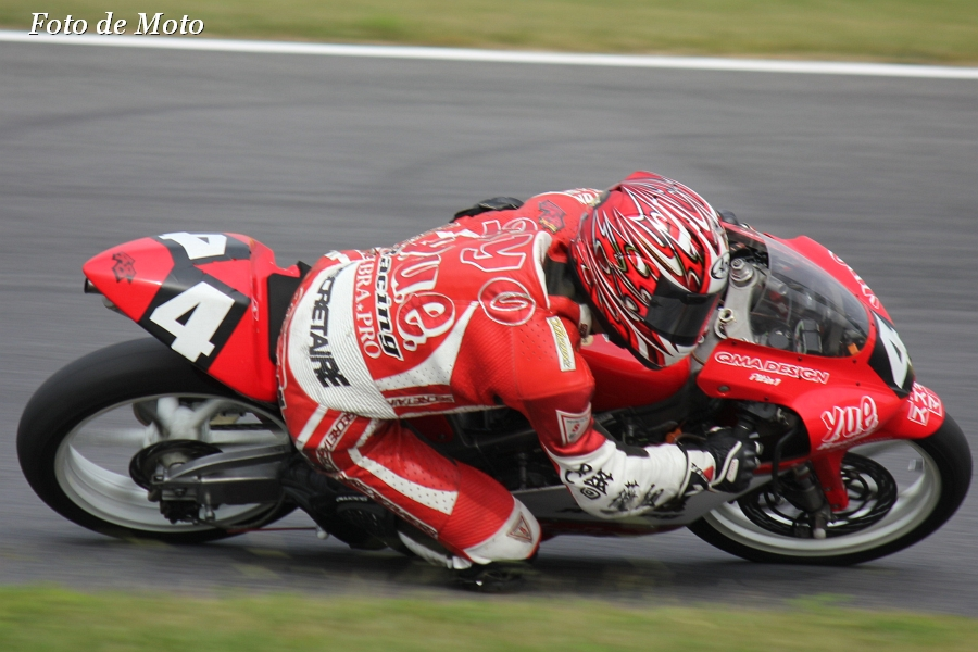 J-GP3 #4 YUE-Racing&薔薇組 高橋 令 Honda RS125R
