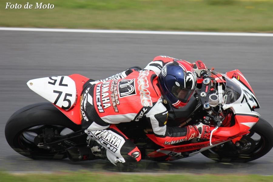 ST600 #75 SP忠男レーシング 名越 公助 Yamaha YZF-R6